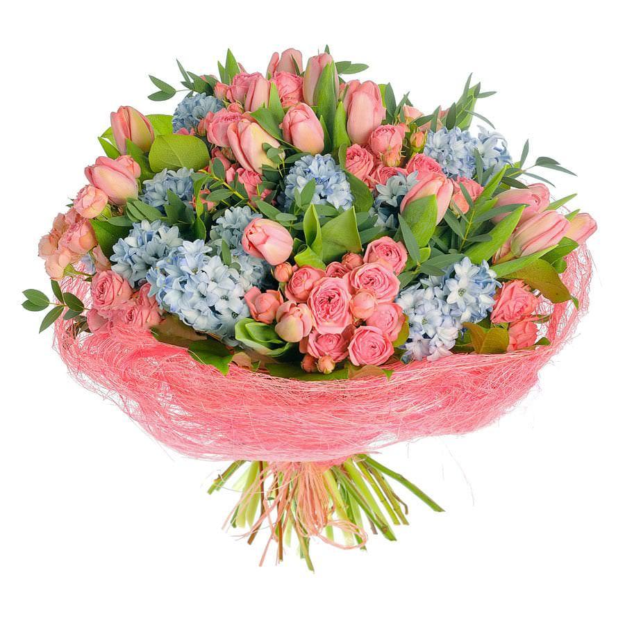 Простой букеты на день рождения женщине, цветов